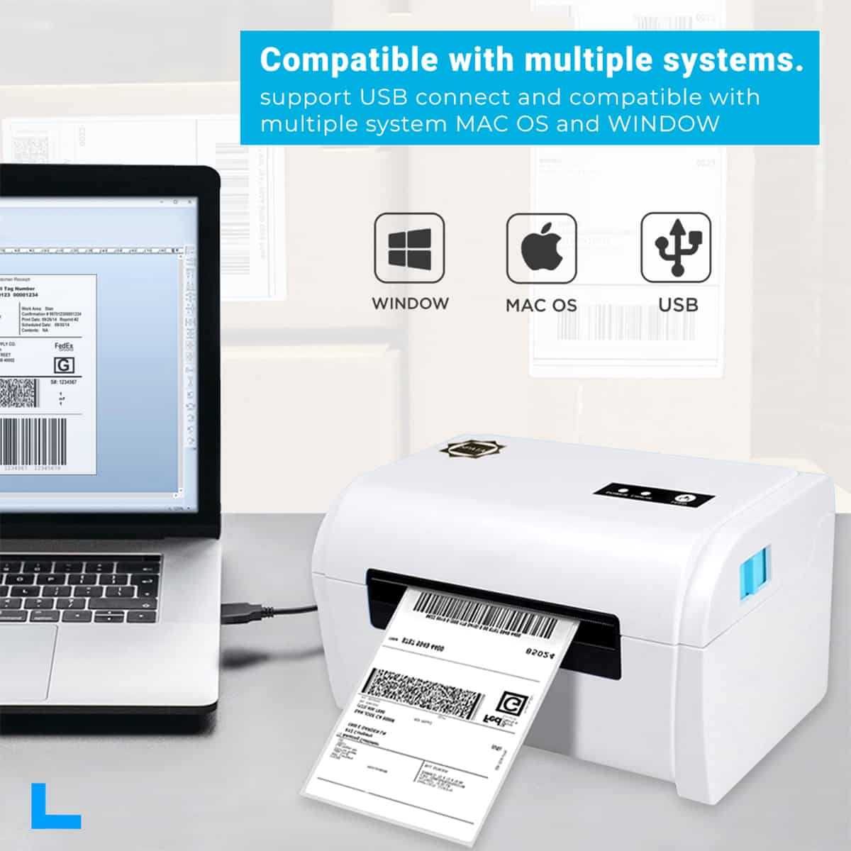 Thermal Label Printer at Best Price by Spata Technology